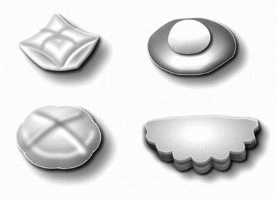 Рис 17 формы изделий из дрожжевого
