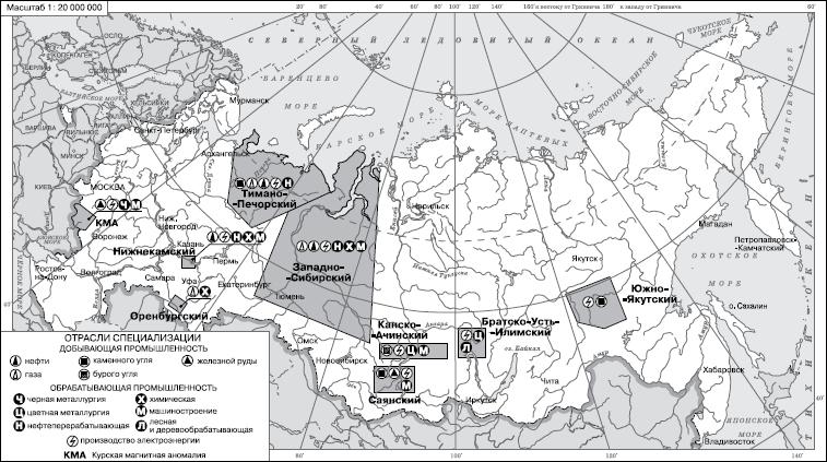 комплексы России ренних