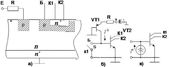 Коллектор p-n-p-транзистора и