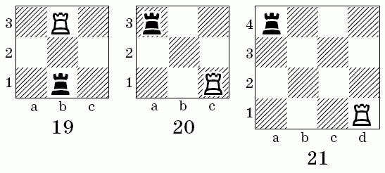 Поля большой шахматной доски