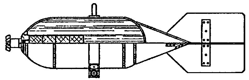 Бомбы ХАБ-25 чертежа 3–1586