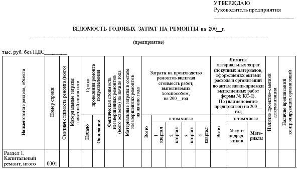журнал технического обслуживания и ремонта оборудования образец - фото 11