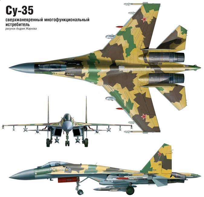 Су-35 готовится встать в строй